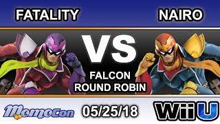 Momocon 2018 - YP   Fatality (Red) Vs. NRG   Nario (Blue) C.Falcon Round Robin - Smash 4