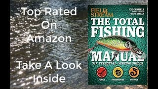 Bass Fishing Books-The Total Fishing Manual-Gifts For Fishermen