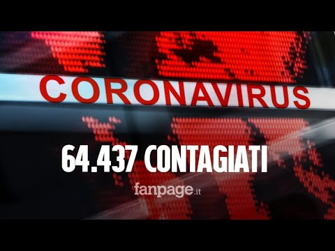 Coronavirus, un morto in Francia: contagiate 64.437 persone nel mondo