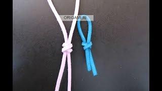 [繩結打法] 雙連結- X型 How to tie a knot