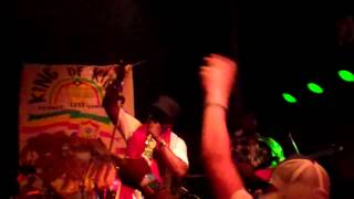 "Barrington Levy @ The New Parish, Oakland 12-16-12 Performing ""Black Roses"""