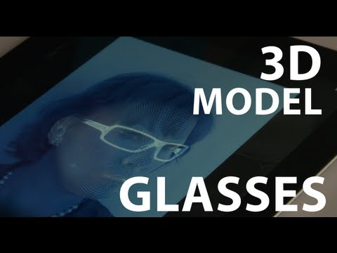 Choose Your Next Pair of Glasses Using 3D and an iPad