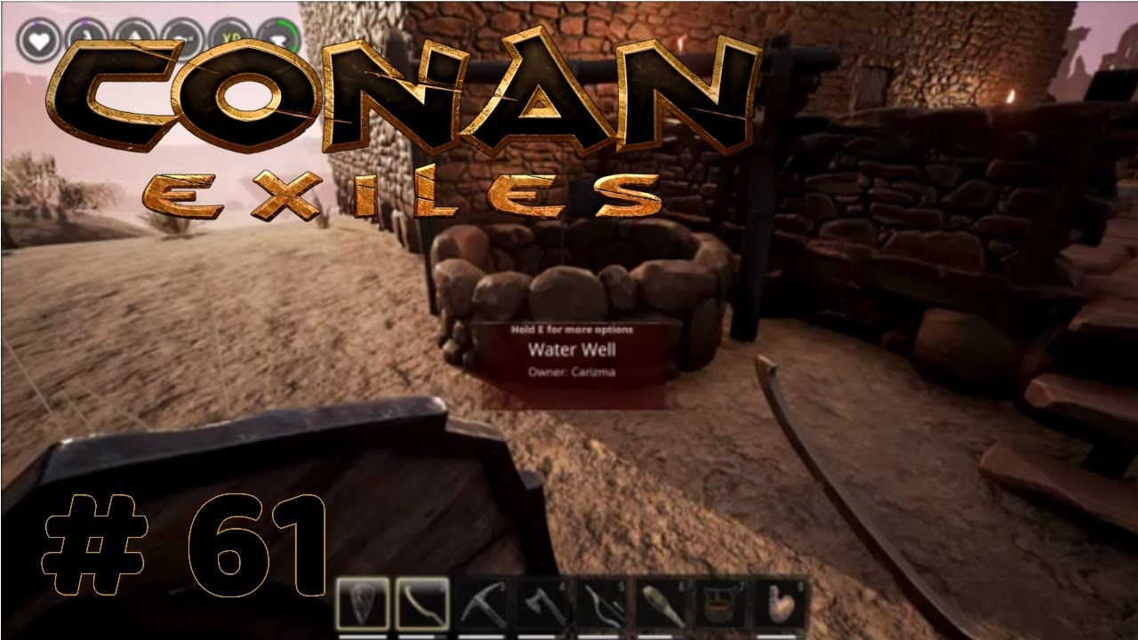 conan exiles how to use the bow