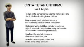 Fazil Alipin - Cinta Tetap Untukmu Original Song