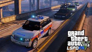 POLICE ESCORT UK PRIME MINISTER | GTA 5 PC LSPDFR | The British Way #133