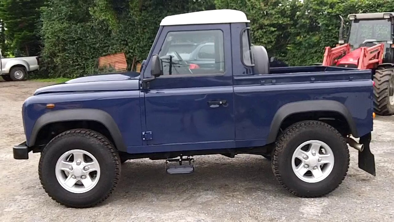 Land Rover Truck >> Land Rover Defender 90 Truck Cab