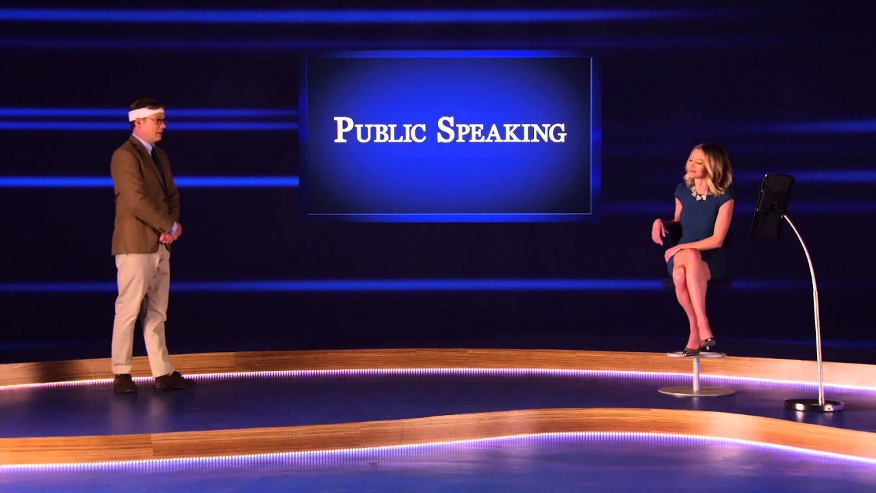 public speaking review Forrest gets to work writing a wedding toast for his ex-wife's rehearsal dinner in order to overcome his fear of public speaking the comedy central app has.