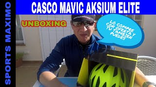 UNBOXING CASCO CICLISMO MAVIC AKSIUM ELITE