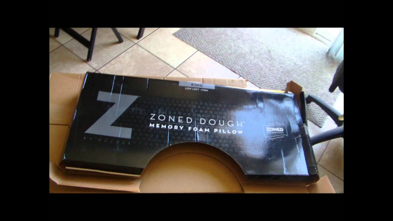 Review Z By Malouf Zoned Memory Foam Pillow King Low