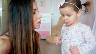 SHE WAS NOT HAPPY! THE REALITY OF HAVING A TODDLER