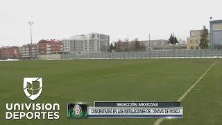 México le ganó a Alemania la casa del Dinamo de Moscú