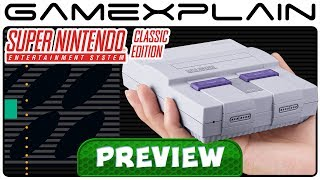Super NES Classic Edition - Hands-On Hardware Preview (Controller, Cord Length, Weight, & More!)