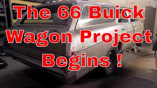 1966 Buick Special Station Wagon Project