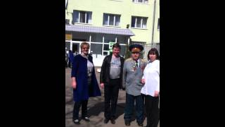 25.04.2015. Субботник возле Харьковского областного госпиталя для ветеранов ВОВ !