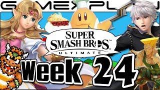 Smash Bros. Ultimate Update: Zelda, Robin, King Bowser Remix, Guile & Chef ATs, & Leaks?! - Week 24