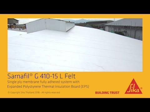 Sarnafil® G 410-15 L Felt - YouTube