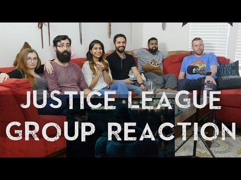 Justice League Trailer 1 - Group Reaction!