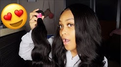 REVIEW ON MALAYSIAN BODY WAVE HAIR FT. JULIA HAIR