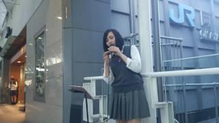 歌手を目指して路上ライブを頑張ってます! 現役高校生を応援ヨロシク(...