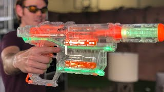 First Review: Nerf Shadow ICS-6 (Ghost Ops Springer)