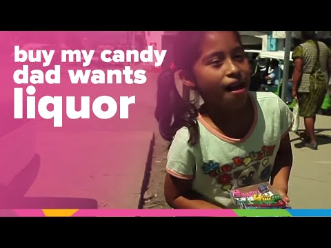 """Buy Some Candy, So My Dad Can Drink…"" 