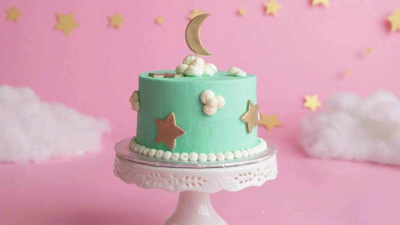 Twinkle Twinkle Little Star Cake Smash Session Youtube