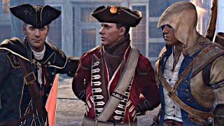 Assassin's Creed 3 Remaster - All Connor & Haytham Cutscenes (Templar Father & Assassin Son) PS4 Pro