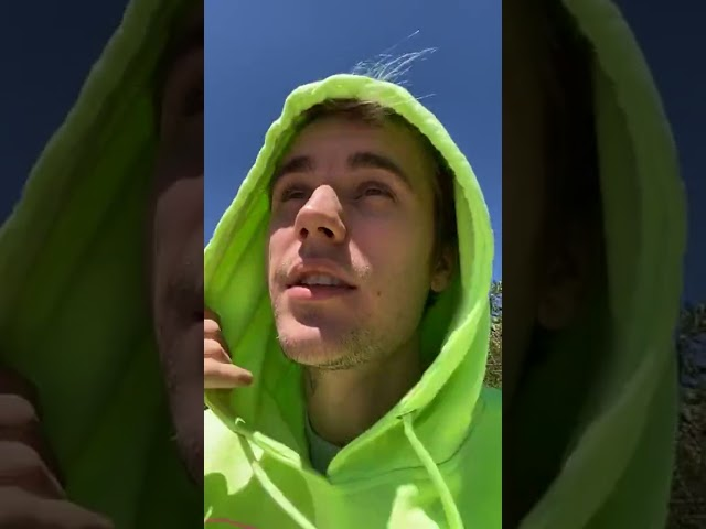 Justin Bieber Instagram Live Stream 20.05.2020