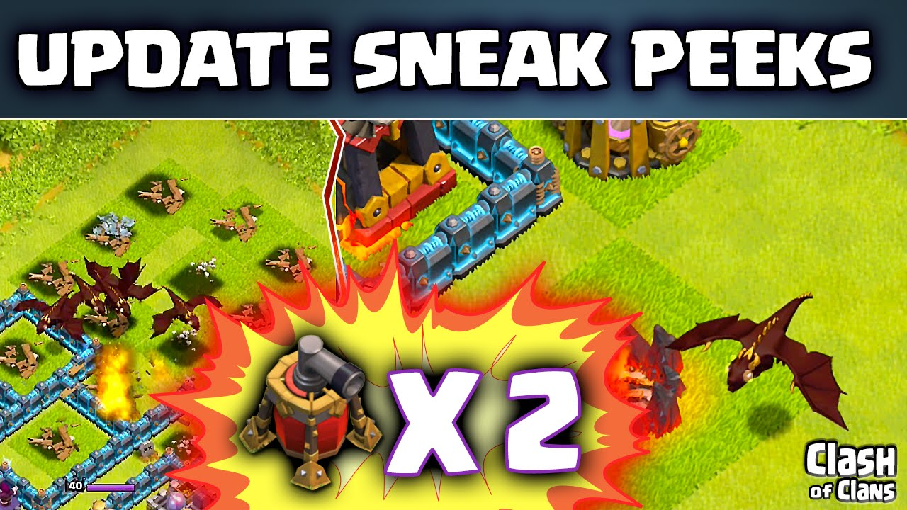 clash of clans level 5 dragon update clash
