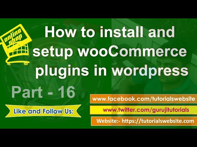 Wordpress tutorial in hindi step by step- Part-17: How to install and setup wooCommerce in wordpress