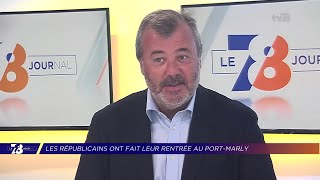 Yvelines | 7/8 Le Journal (extrait) – Philippe Benassaya, candidat LR à la 11e circo. des Yvelines