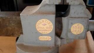 Prentiss Bulldog Bench Vice Vise With Swivel Base *sold*