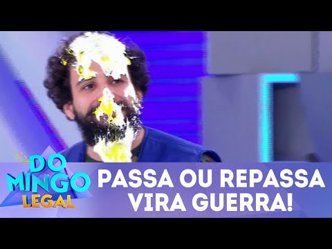 Passa ou Repassa vira guerra! | Domingo Legal (06/05/18)