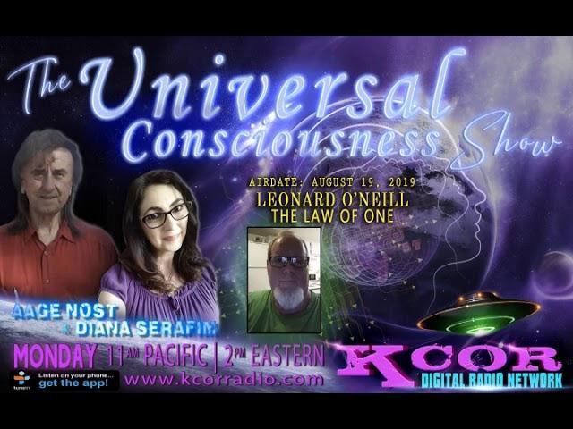 Universal Consciousness Show - Leonard O'Neill