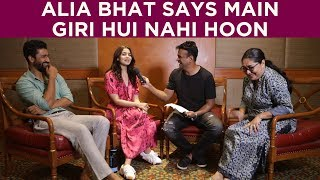 Alia Bhatt talks about her rumoured relationship with Ranbir Kapoor! Part 1