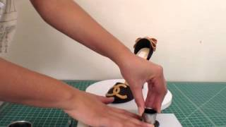 Gumpaste Chanel Logo Demo