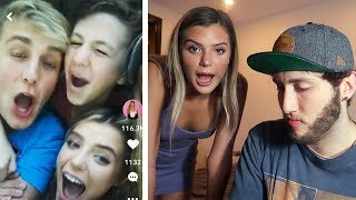REACTING TO MY GIRLFRIENDS MUSICAL.LYS (Alissa Violet)