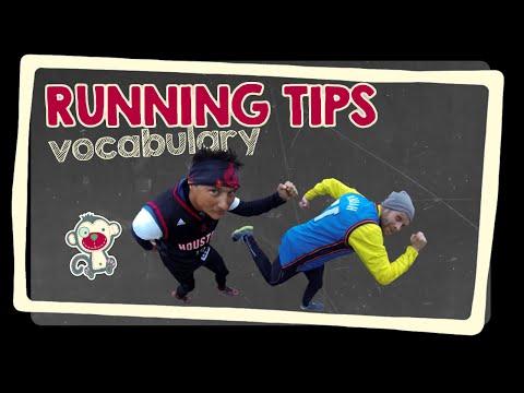 Running tips - English vocabulary