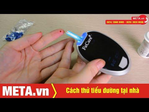 Cách thử tiểu đường tại nhà   META.vn