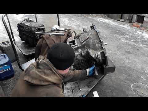 Стыковка КПП и делителя Камаз и проверка включения воздухом и механикой!