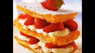 """Коллекция рецептов-""""Наполеон"""" с ягодами"""