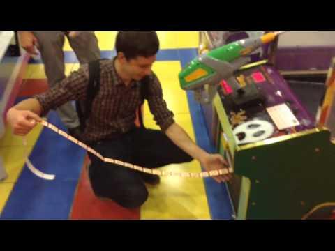 Игровые автоматы Снайпер! Как не проиграть все деньги в автоматы! Атриум кино! #2