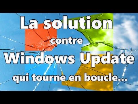 Solution contre la mise à jour sans fin sur Windows Update