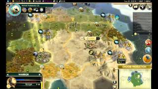 Lets play Civ 5 as Assyria, part 1
