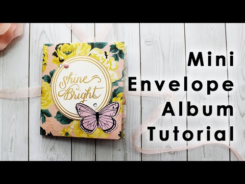 DIY Mini Envelope Album/Flipbook Tutorial for Snail Mail or Scrapbooking