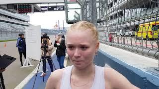 Ольга Шаргина - 1 место Командного чемпионата России в заходе 35 км