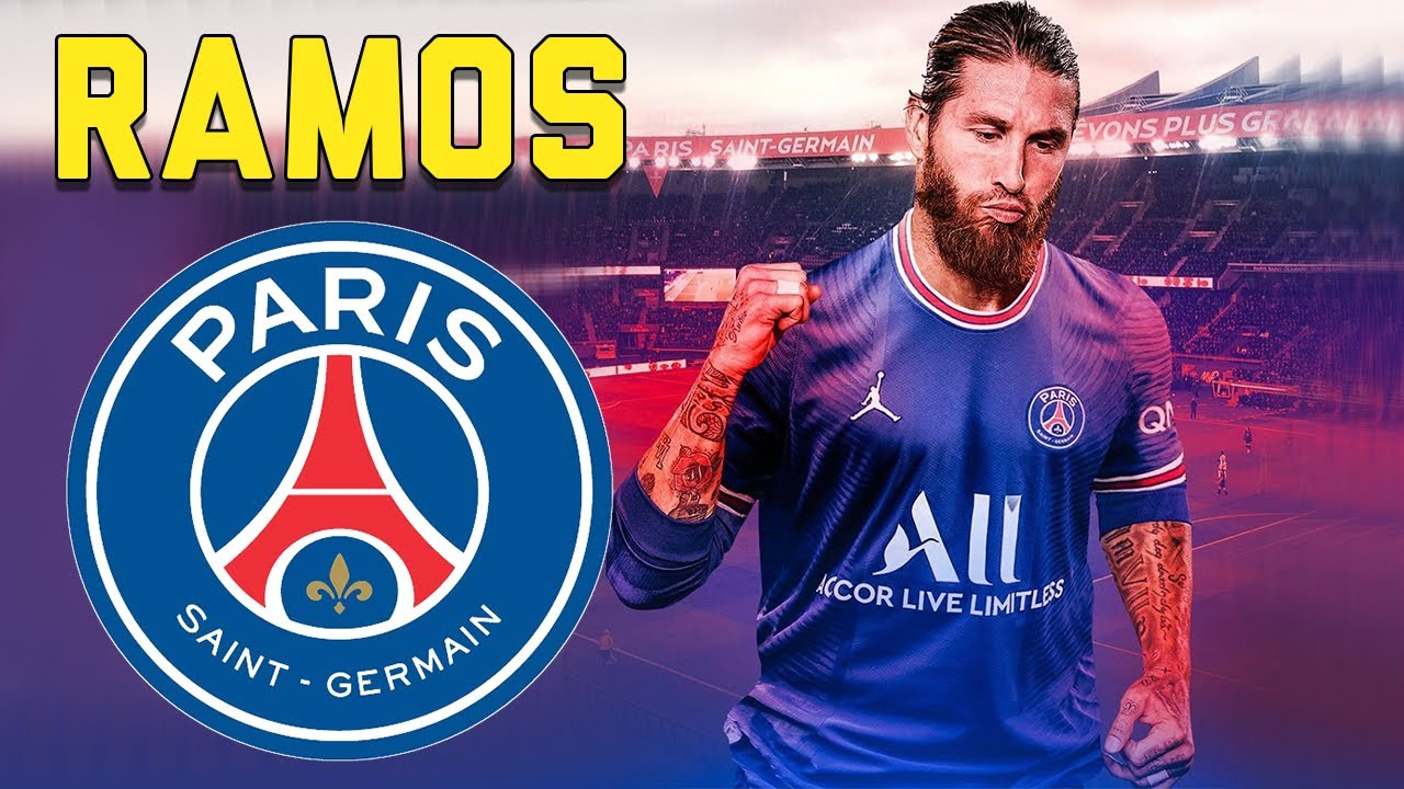 SERGIO RAMOS ○ Welcome to PSG 🔴🔵 OFFICIAL! - YouTube