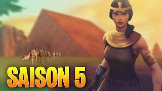 [SPOILER] SAISON 5 FORTNITE: Theme, Combat Pass, Trailer - Skins!