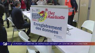 Yvelines | Le premier centre de vaccination hors hôpitaux est Yvelinois