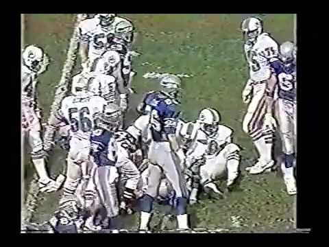 Seattle Seahawks vs Miami Dolphins 1984 AFC Div. Playoffs